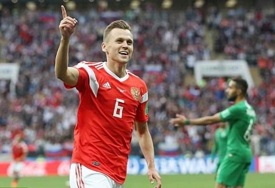 Cheryshev đang là cái tên ghi nhiều bàn thắng nhất cho Nga tại World Cup 2018.