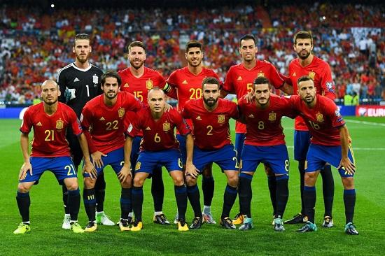 Đội tuyển Tây Ban Nha.